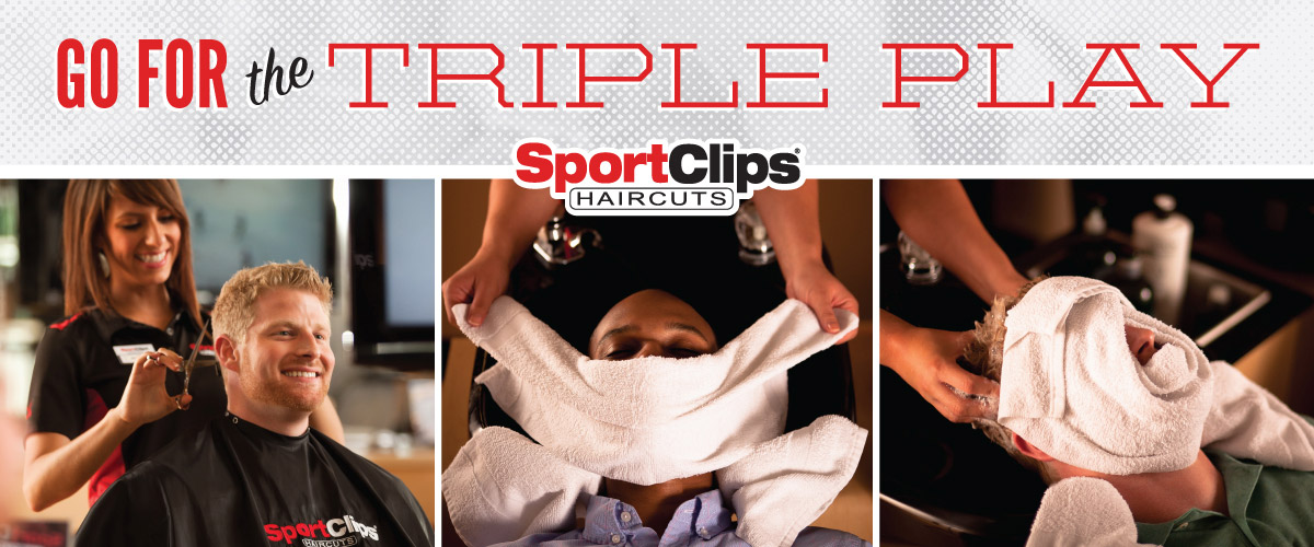 The Sport Clips Haircuts of Penfield Triple Play